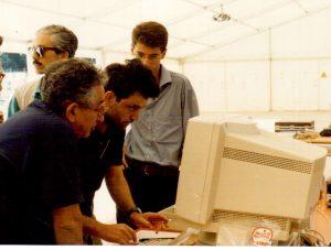 Campo base di Terzigno (con Paolo Capuano e Roberto De Franco)
